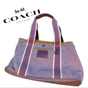 Authentic Vintage Coach Hamptons MiNi Tote Bag